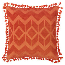Buy John Lewis Fez Cushion, Paprika Online at johnlewis.com