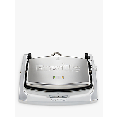 Breville VST071 DuraCermic Cafe Style Sandwich Press, Stainless Steel