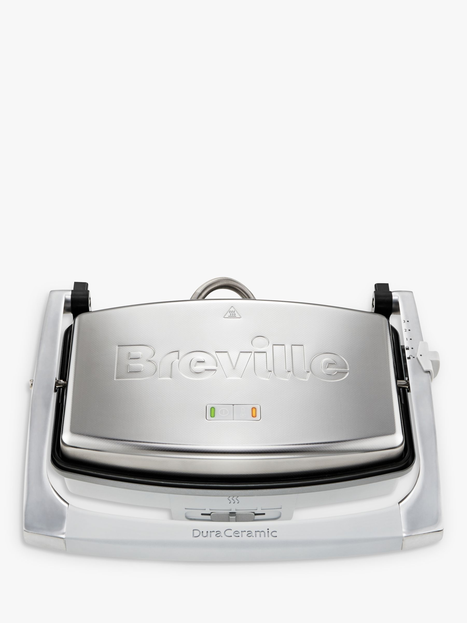 Breville Breville VST071 DuraCermic Cafe Style Sandwich Press, Stainless Steel