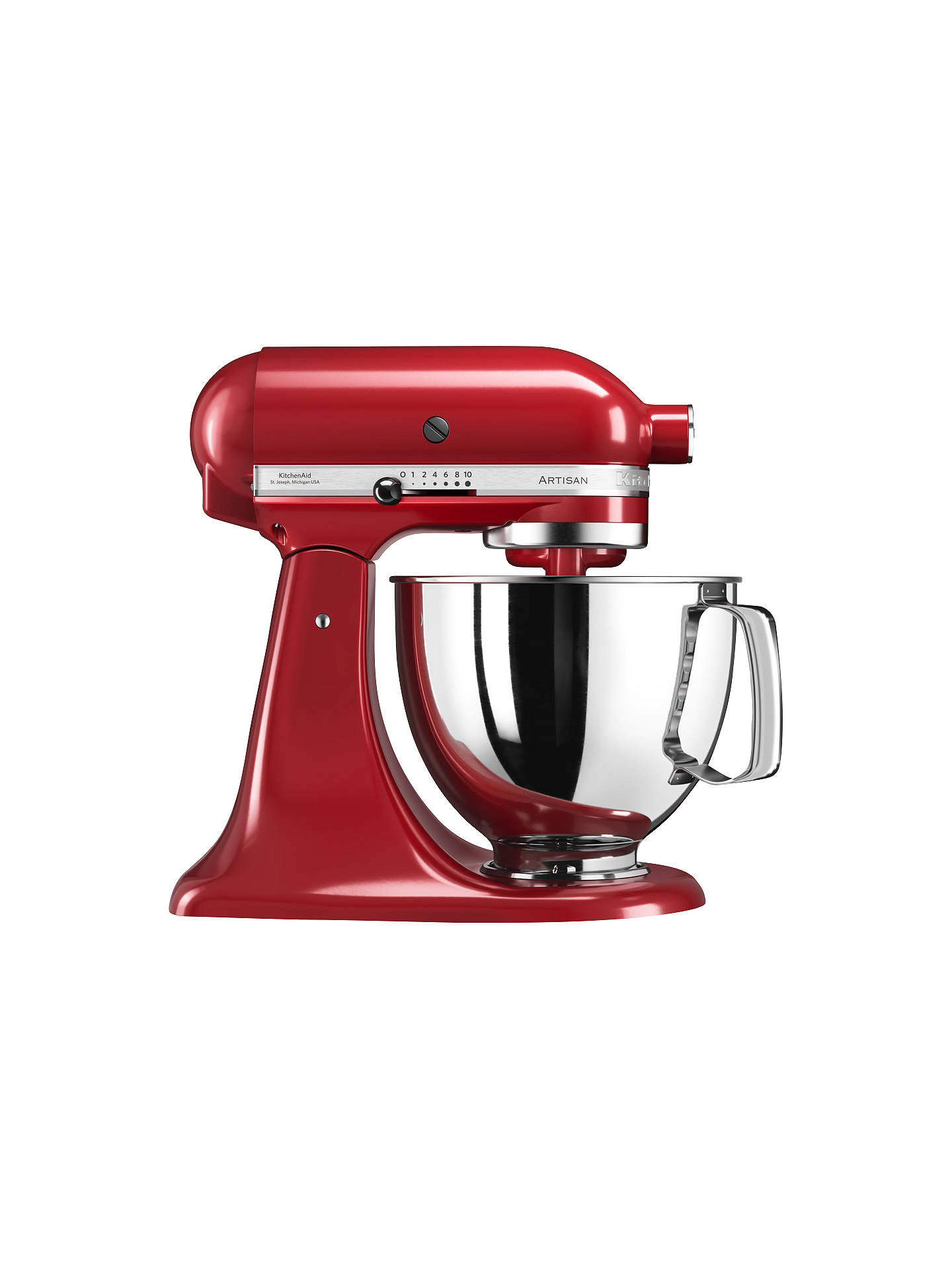 kitchenaid 125 artisan 4 8l stand mixer at john lewis partners rh johnlewis com