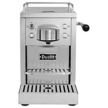 Buy Dualit 85170 Classic Coffee Capsule Machine, Stainless Steel Online at johnlewis.com