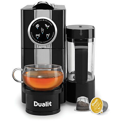 buy dualit 85180 cafe cino coffee capsule machine black. Black Bedroom Furniture Sets. Home Design Ideas