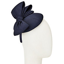 Buy John Lewis Paige Shantung Pillbox Bow Fascinator Online at johnlewis.com