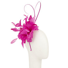 Buy John Lewis Isla Feather Flower Fascinator Online at johnlewis.com