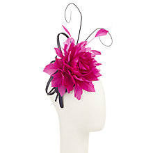 Buy John Lewis Hazel Feather Flower Fascinator Online at johnlewis.com