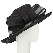 Buy John Lewis Anna Braid Bow Occasion Hat, Black Online at johnlewis.com