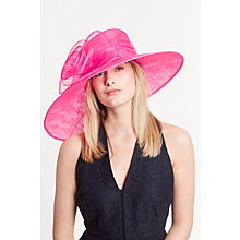 Buy John Lewis Dee Large Swirl Flower Occasion Hat Online at johnlewis.com