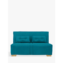 Buy John Lewis Strauss Large 3 Seater Sofa Bed, Light Leg, Fraser Teal Online at johnlewis.com