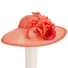 Buy Whiteley Rose Disc Occasion Hat, Sunset Online at johnlewis.com