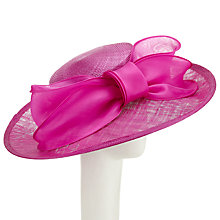 Buy Whiteley Nicole Bow Detail Occasion Hat, Magenta Online at johnlewis.com