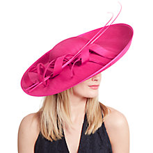 Buy John Lewis Becky Large Shantung Disc Occasion Hat Online at johnlewis.com