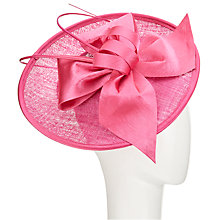 Buy John Lewis Zara Upturn Disc Occasion Hat, Fuchsia Online at johnlewis.com
