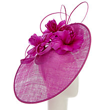 Buy Snoxells Diana Large Disc Occasion Hat Online at johnlewis.com