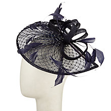 Buy Snoxells Diamante Teardrop and Loops Fascinator Online at johnlewis.com