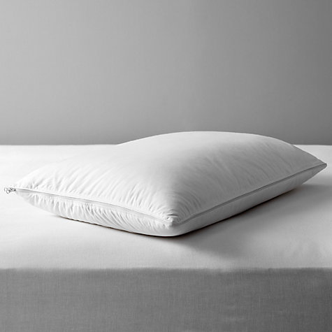 Buy John Lewis Adjustable Duck Down and Memory Foam Standard Pillow Online at johnlewis.com