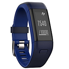 Buy Garmin vivosmart HR+ Sports GPS Activity Tracker With Wrist Heart Rate Monitor, Regular Online at johnlewis.com