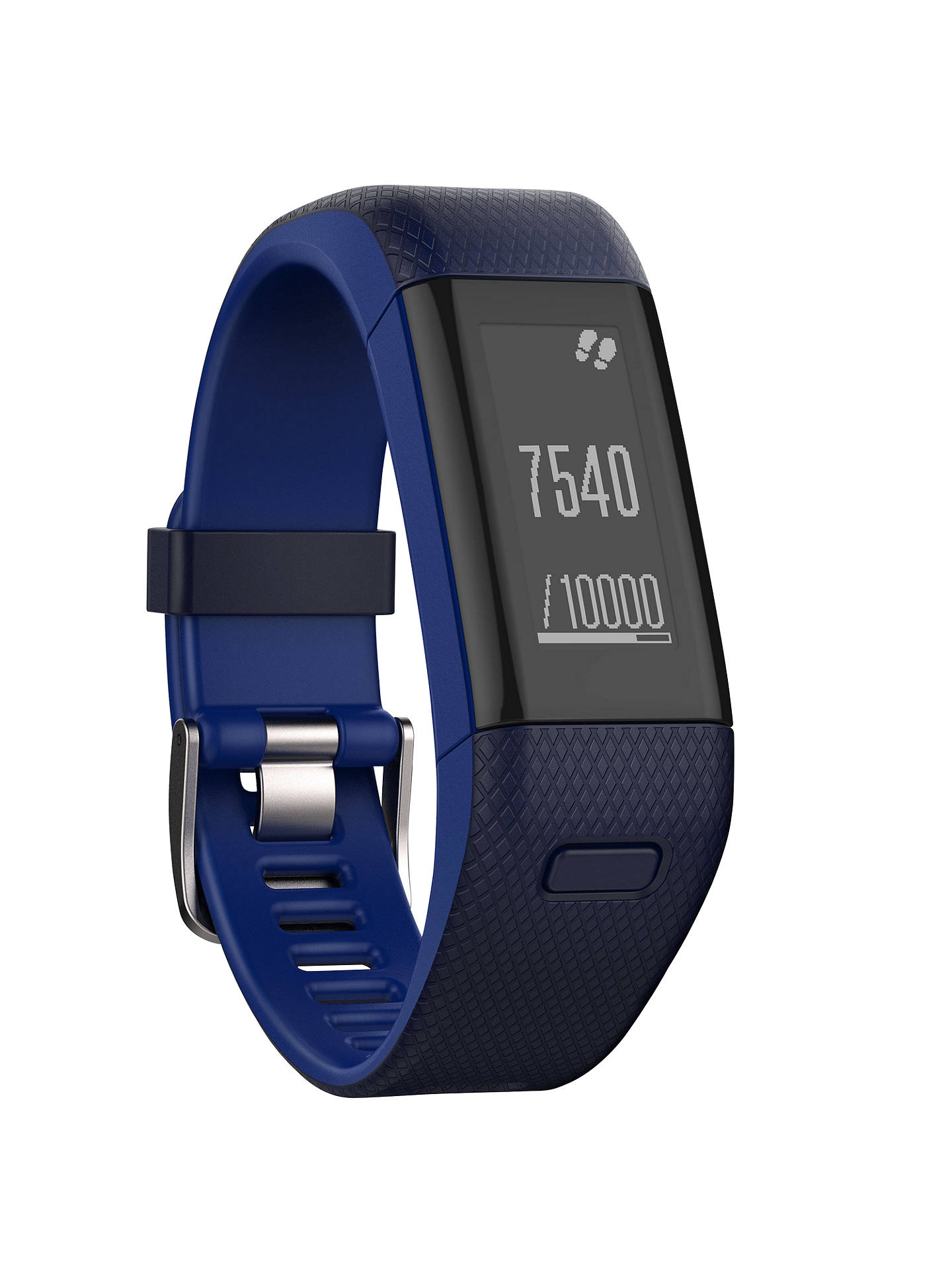 Garmin Vivosmart Hr Sports Gps Activity Tracker With Wrist Heart Rate Monitor Regular At John Lewis Partners