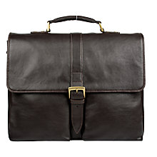 Buy Hidesign Aberdeen Angus Briefcase, Brown Online at johnlewis.com