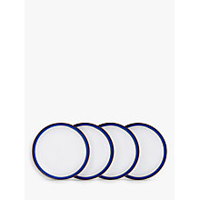Buy Denby Imperial Blue 26.5cm Dinner Plate Set, 4 Pieces Online at johnlewis.com