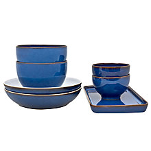 Buy Denby Imperial Blue Takeaway Set, 7 Pieces Online at johnlewis.com