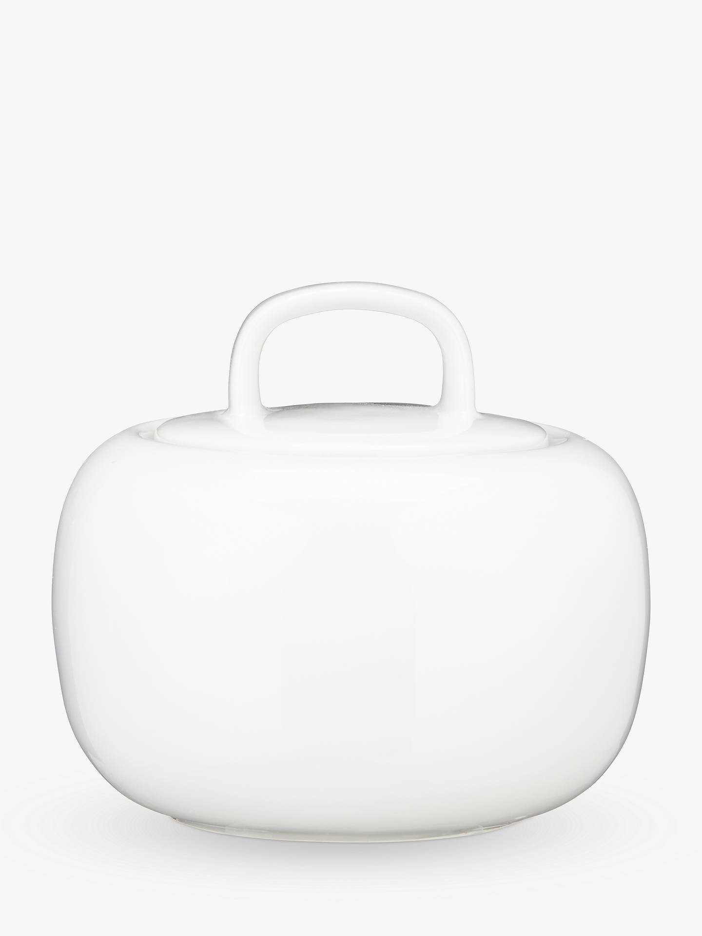Buy House by John Lewis Eat Covered Sugar Bowl, White Online at johnlewis.com