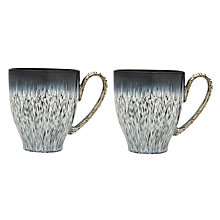 Buy Denby Halo Mug, Set of 2 Online at johnlewis.com