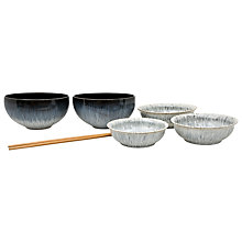 Buy Denby Halo Asian Set, 7 Pieces Online at johnlewis.com