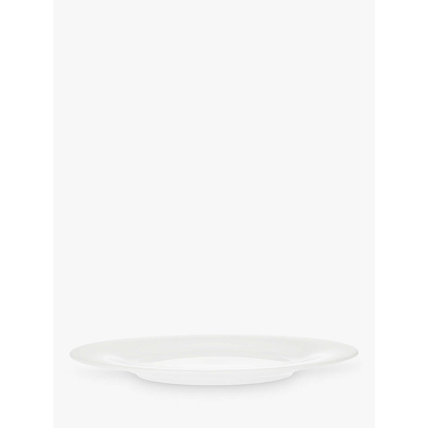 BuyHouse by John Lewis Eat 22cm Rim Side Plate, White Online at johnlewis.com