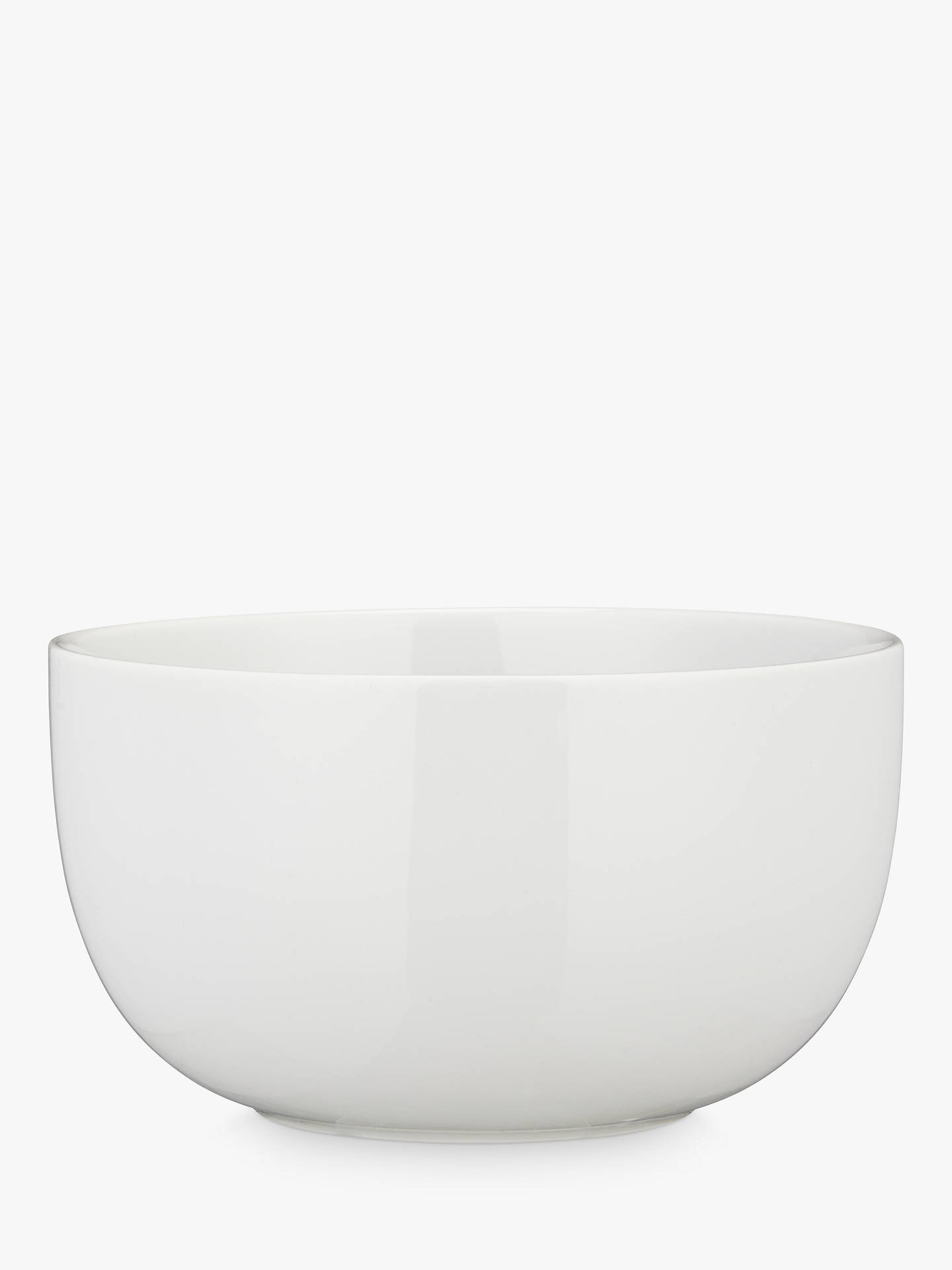 BuyHouse by John Lewis Eat 14.5cm Noodle Bowl, White Online at johnlewis.com