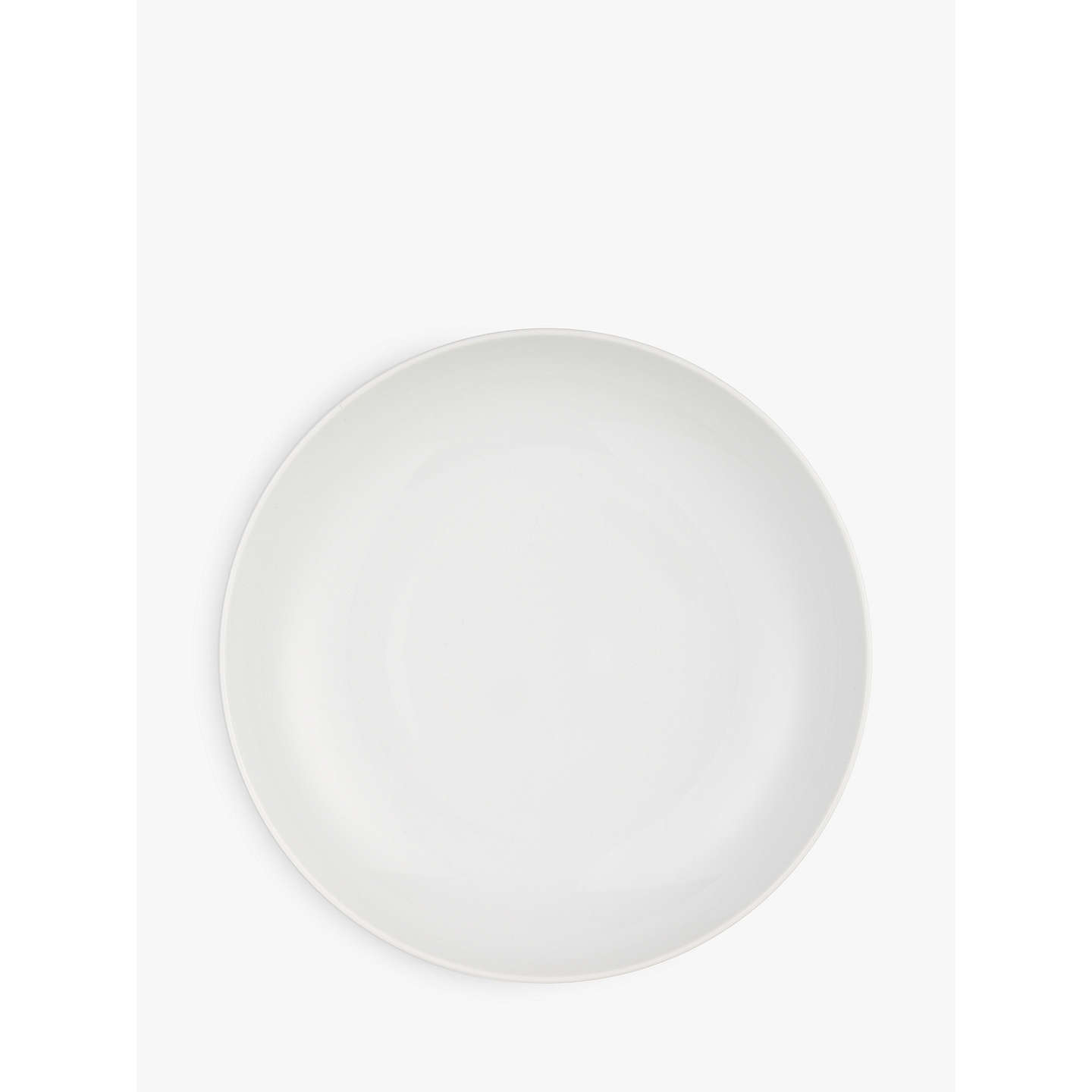 BuyHouse by John Lewis Eat 24.5cm Coupe Pasta Bowl, White Online at johnlewis.com