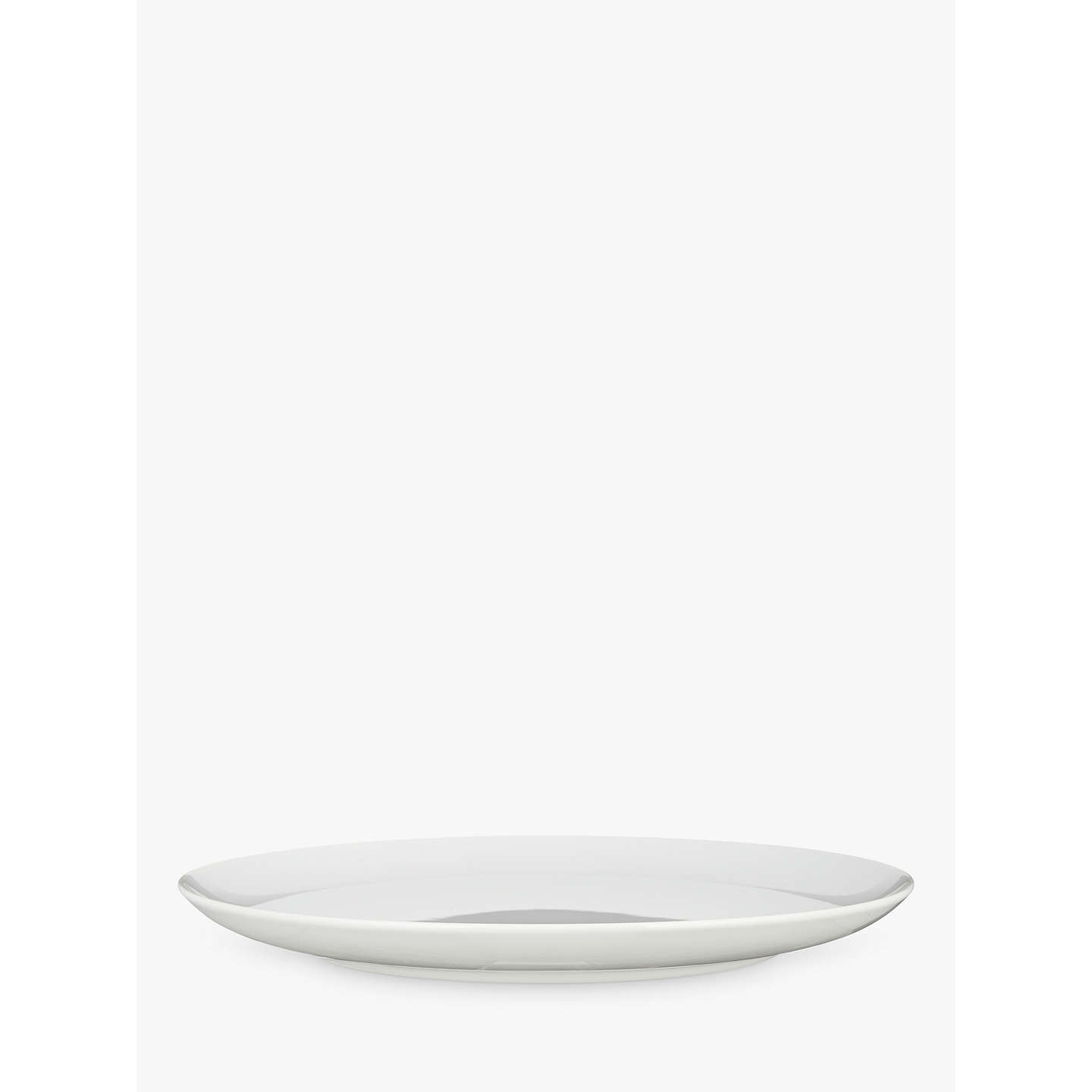 BuyHouse by John Lewis Eat 28cm Coupe Dinner Plate, White Online at johnlewis.com