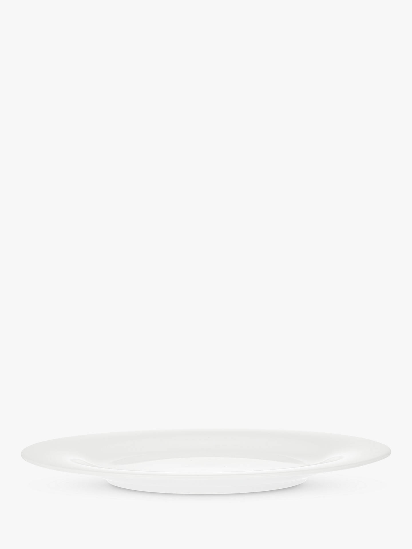 BuyHouse by John Lewis Eat 28cm Rim Dinner Plate, White Online at johnlewis.com