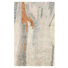 Buy west elm Marbled Shaggy Rug, L244 x W152cm, Ivory Online at johnlewis.com