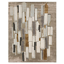 Buy west elm Alabaster Tile Rug, L244 x W152cm, Ivory Online at johnlewis.com