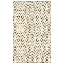Buy west elm Watercolour Trellis Rug, L244 x W152cm, Ivory Online at johnlewis.com