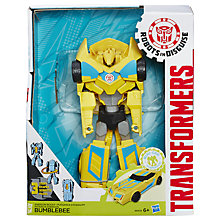 Buy Transformers Robots in Disguise Mini-Con Weaponizers Bumblebee Figure Online at johnlewis.com