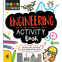 Buy Stem Starters for Kids Engineering Activity Book Online at johnlewis.com