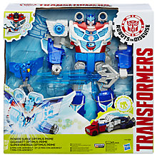 Buy Transformers: Robots in Disguise Power Surge Optimus Prime Action Figure Online at johnlewis.com