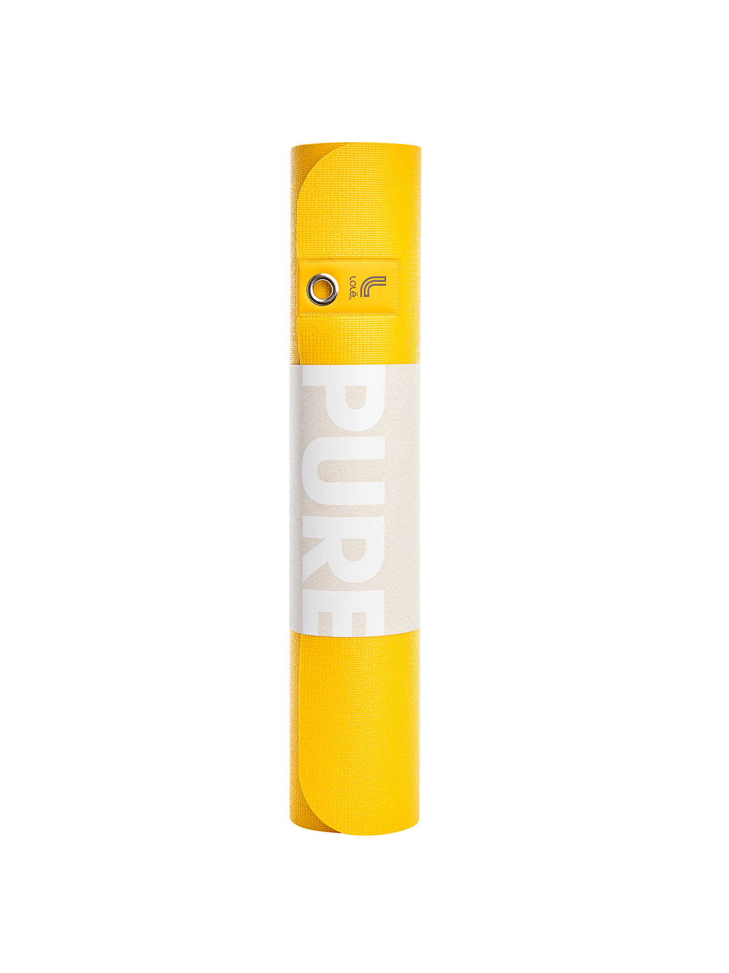 Lol 235 Glow Reversible 6mm Yoga Mat Yellow Grey At John