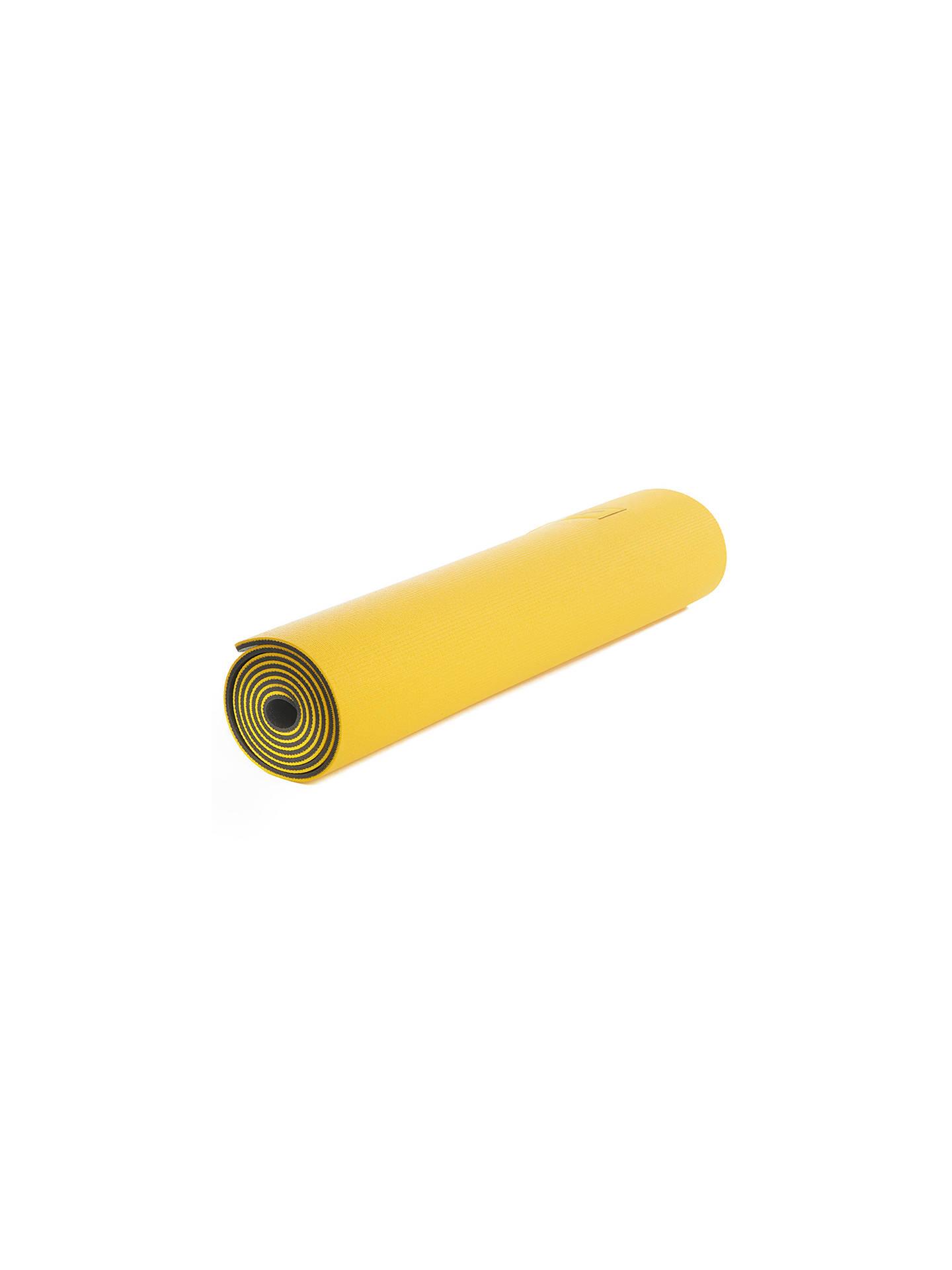 Lol 235 Glow Reversible 6mm Yoga Mat Yellow Grey At John