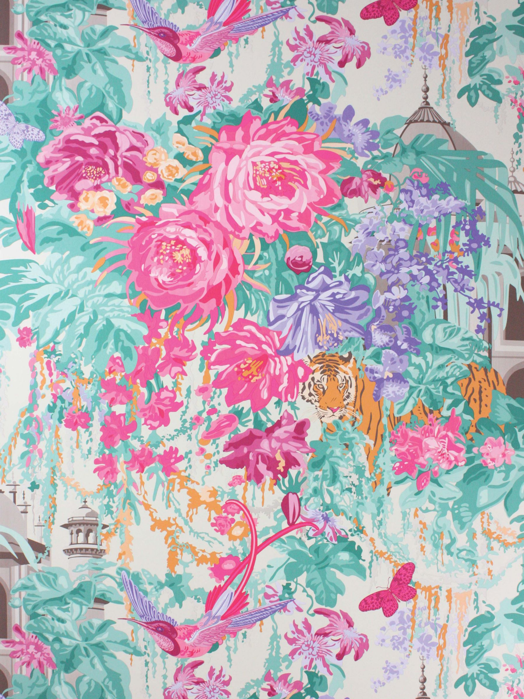 Osborne & Little Osborne & Little Matthew Williamson Mughal Garden Paste the Wall Wallpaper