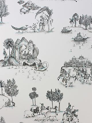 Osborne & Little Matthew Williamson Zanskar Paste the Wall Wallpaper