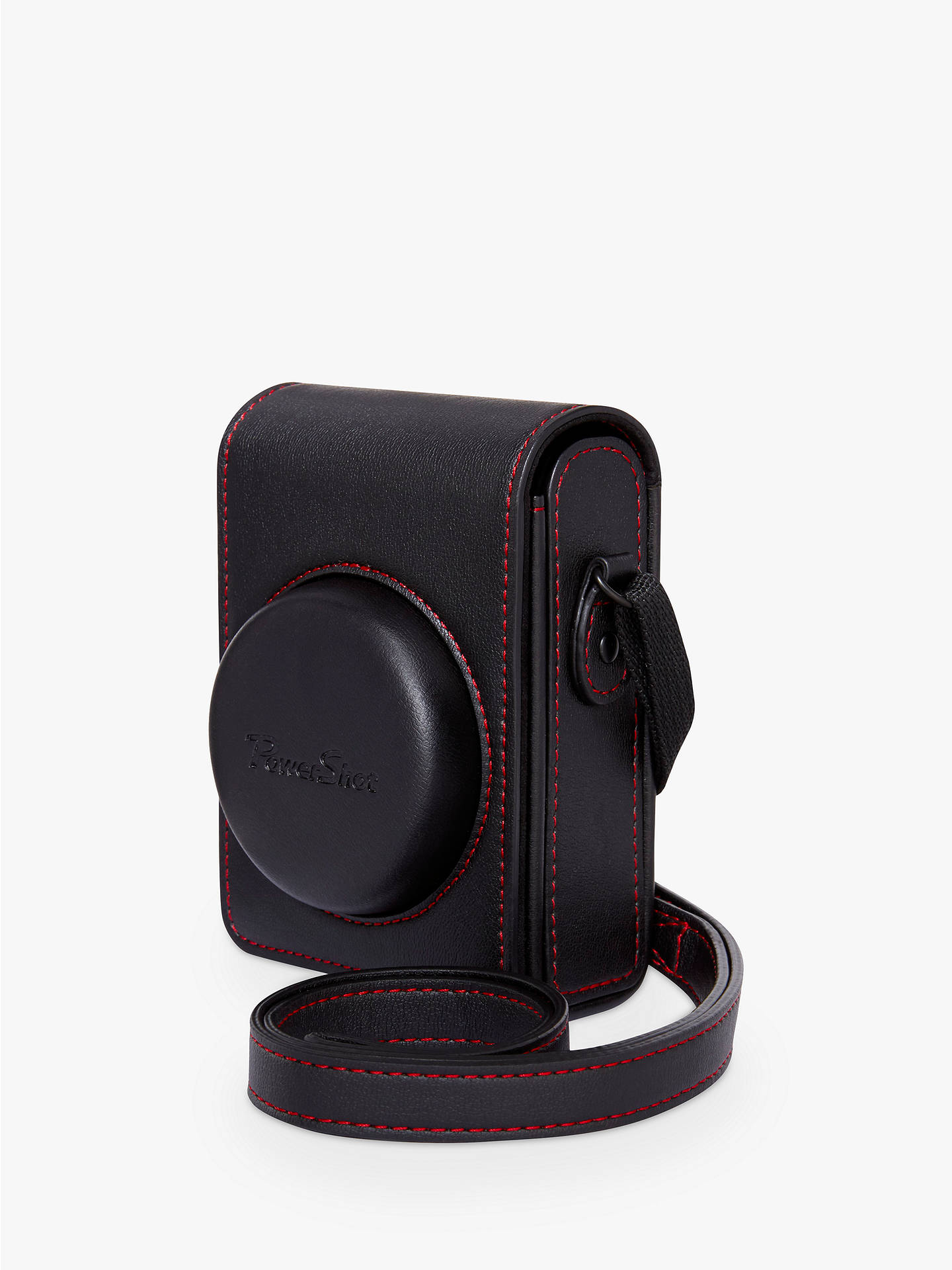 BuyCanon DCC-1880 Soft Leather Camera Case for PowerShot G7X II, Black Online at johnlewis.com