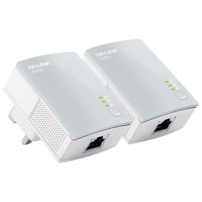 TP-LINK AV600 Passthrough Powerline Kit, TL-PA4010KIT
