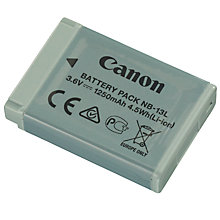 Buy Canon NB-13L Rechargeable Digital Camera Battery Online at johnlewis.com
