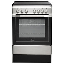Buy Indesit I6VV2AXUK Electric Cooker, Silver Online at johnlewis.com