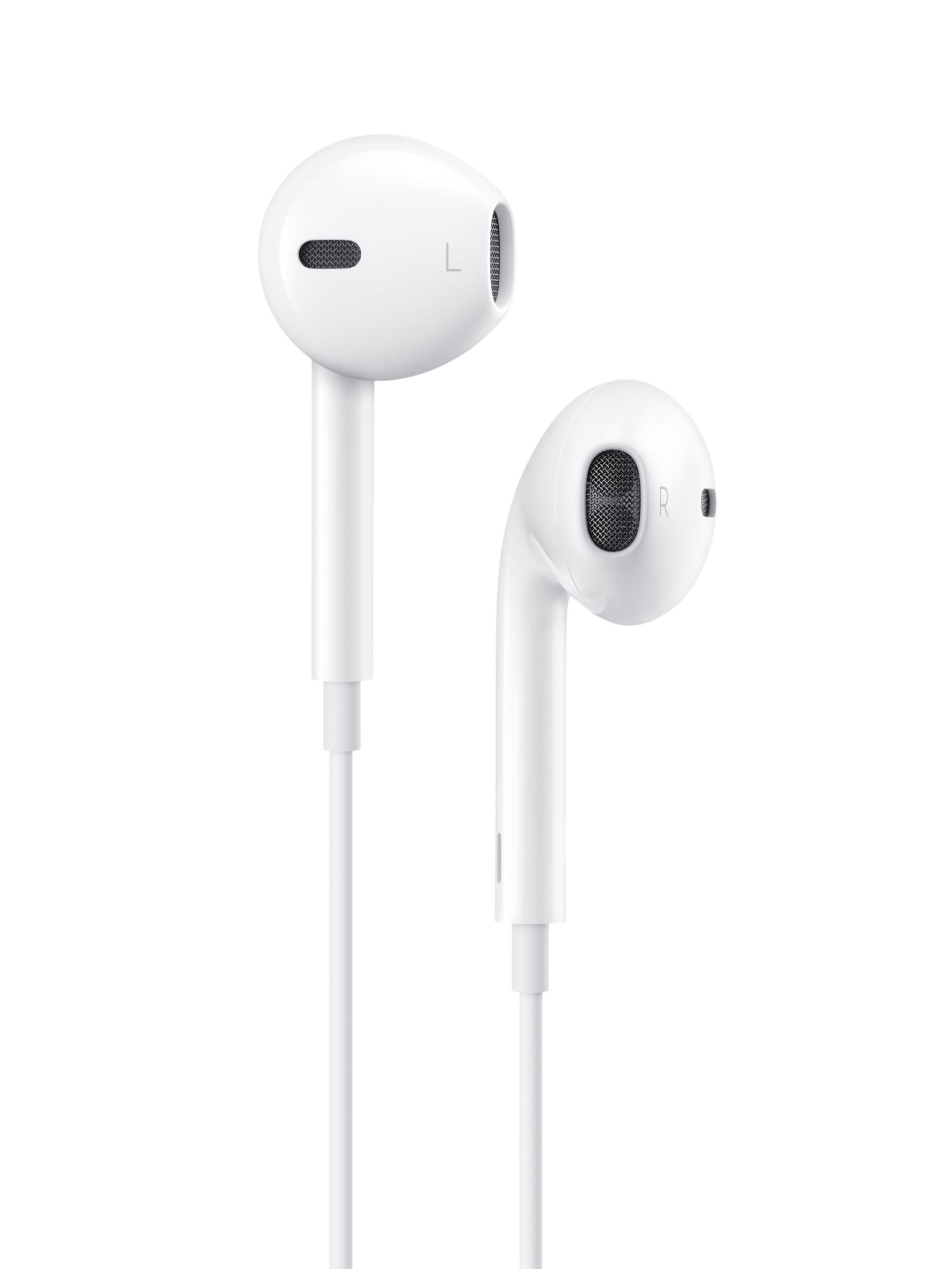 6423594f802 Apple Earpods with Remote and Mic, Lightning Connector, White at John Lewis  & Partners