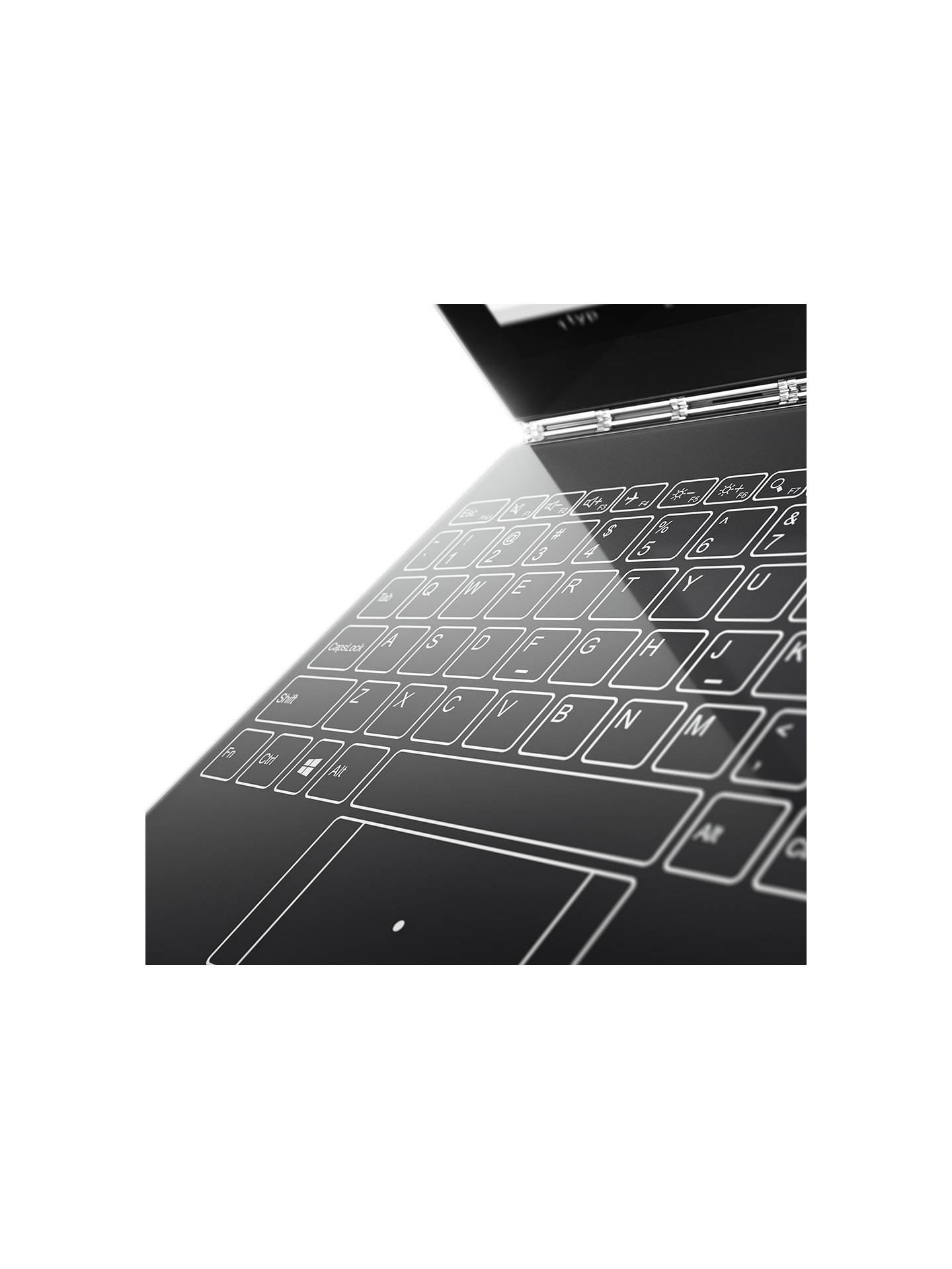 Lenovo Yoga Book Convertible Laptop, Intel Atom, 4GB RAM, 64GB SSD, Windows  OS, 10