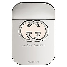 Buy Gucci Guilty Platinum Edition Eau de Toilette Online at johnlewis.com