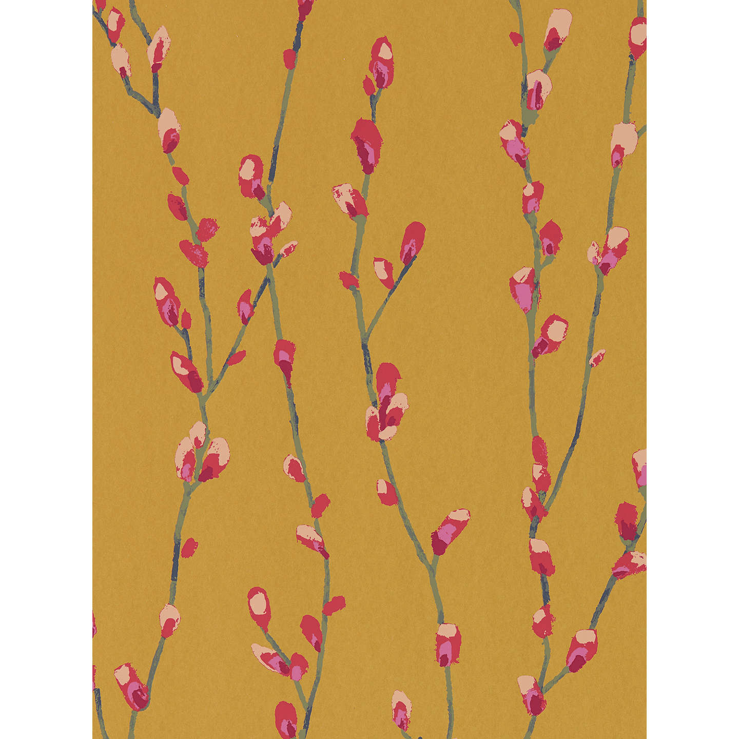 BuyHarlequin Standing Ovation Salice Paste the Wall Wallpaper, Fuchsia / Sunshine 111473 Online at johnlewis.com